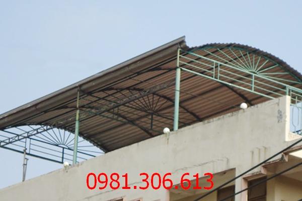 Dịch vụ lợp mái tôn sân thượng